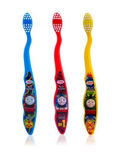 Brush Buddies Thomas & Friends Toothbrush 3 Pack