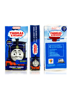 Smart Care Thomas & Friends Pocket Facial Tissues (6 Pack)