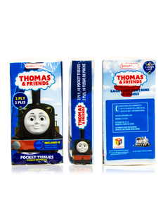 Smart Care Thomas & Friends Pocket Facial Tissues 6 Pack