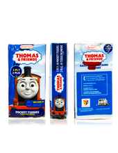 Load image into Gallery viewer, Smart Care Thomas & Friends Pocket Facial Tissues (6 Pack)