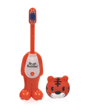 Load image into Gallery viewer, Poppin' Toothy Toby (Tiger) Toothbrush