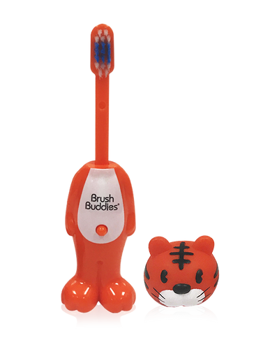 Poppin' Toothy Toby (Tiger) Toothbrush