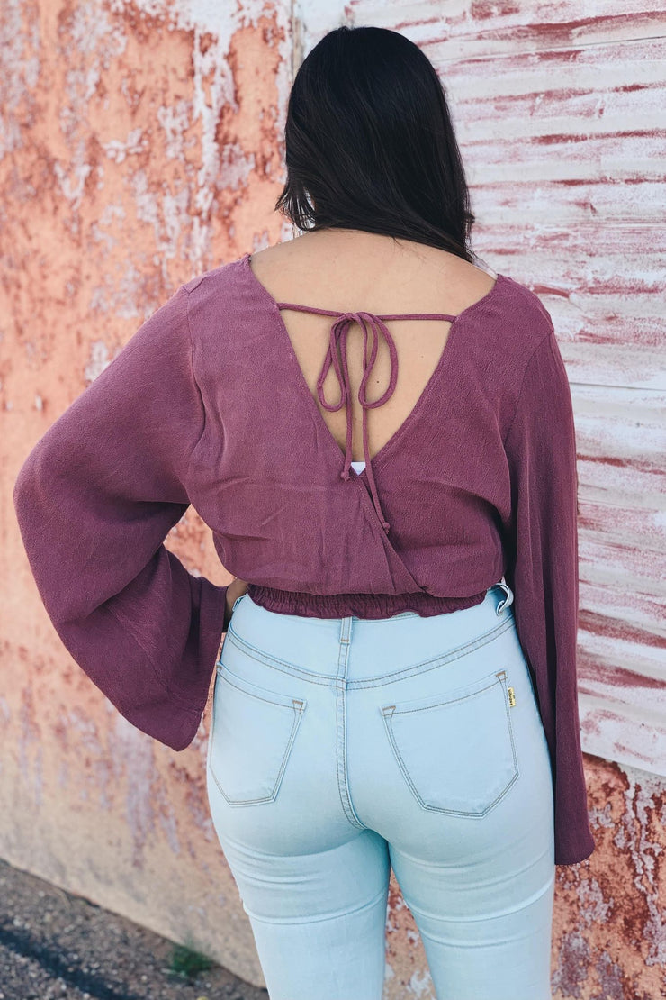 The Forever Flirty Top - Berry