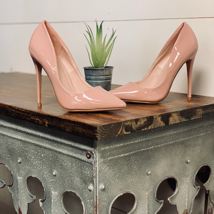 So Fine Pointed Toe Heels - Chic Threads Clothing Co.