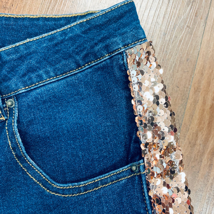 The Jackpot Sequin Skinnies - Chic Threads Clothing Co.