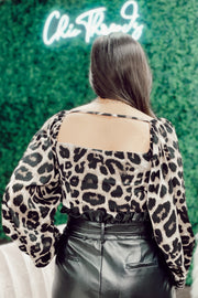 The Shake It Off Leopard Top