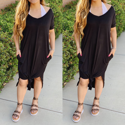 The Chic Style Dress - Black