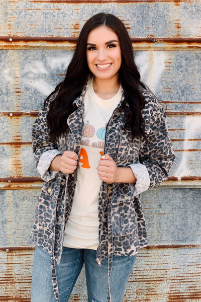 The Leopard Utility Jacket