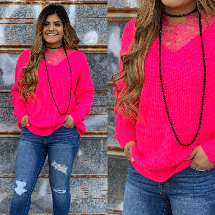 Love You More Sweater - Chic Threads Clothing Co.