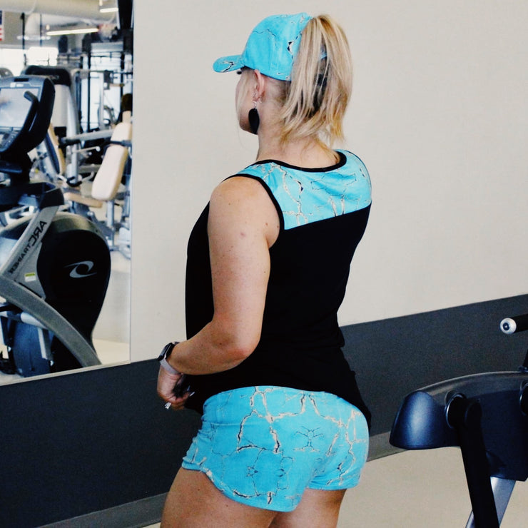 Stoney Workout Ponytail Cap - Chic Threads Clothing Co.