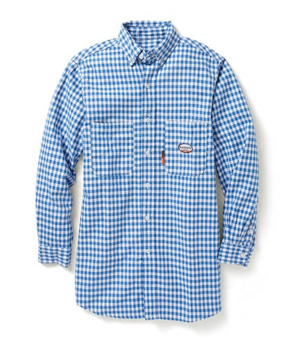 FR Plaid Button Up - Chic Threads Clothing Co.