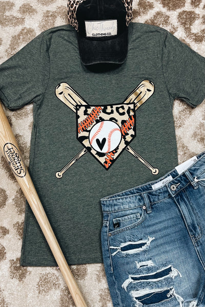 The Home Plate Tee - Baseball