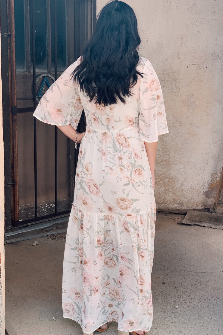 The Delicate Floral Maxi