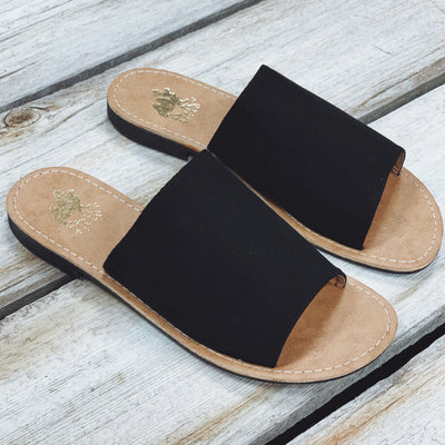 The Sahara Sandals - Black - Chic Threads Clothing Co.