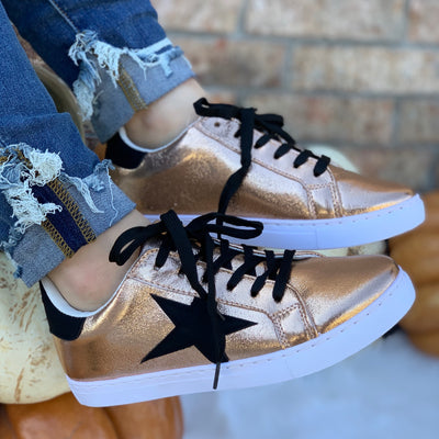 Star Tennis Shoes - Chic Threads Clothing Co.
