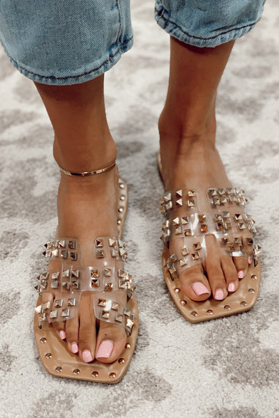 The Rock Stud Sandals
