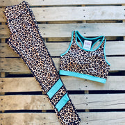 Leopard Workout Set - Chic Threads Clothing Co.