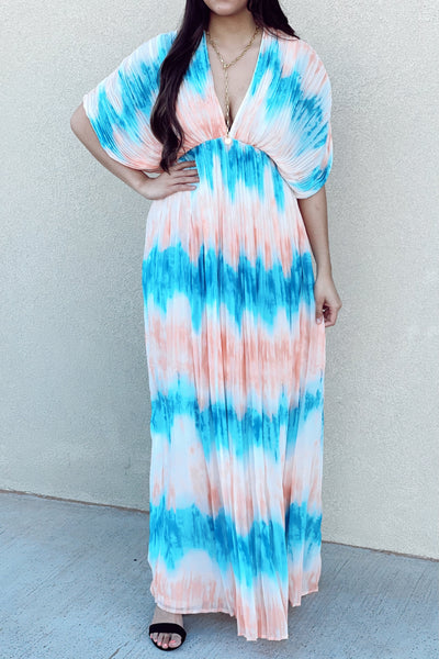 Pleated To Perfection Maxi