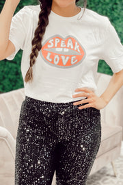 Speak Love Graphic T-Shirt