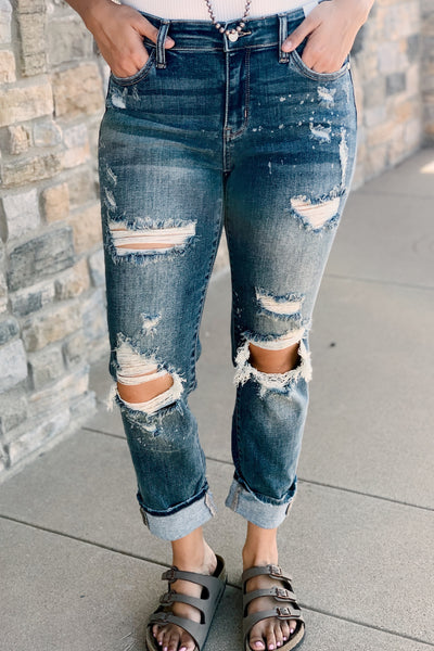 The Bombshell Boyfriend Jeans