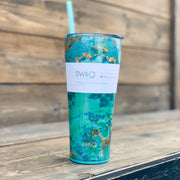Turquoise 32oz Tumbler - Chic Threads Clothing Co.