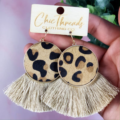 Pop The Bubbly Earrings - Chic Threads Clothing Co.