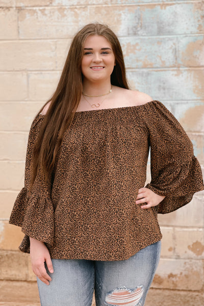 The Cheetahlicious Plus Top