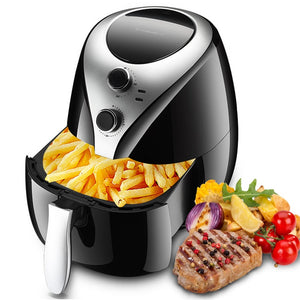5L Air Fryer  Intelligent No Oil Fumes High Capacity Electric Fryer French Fries Machine Potato Chips Frying Machine