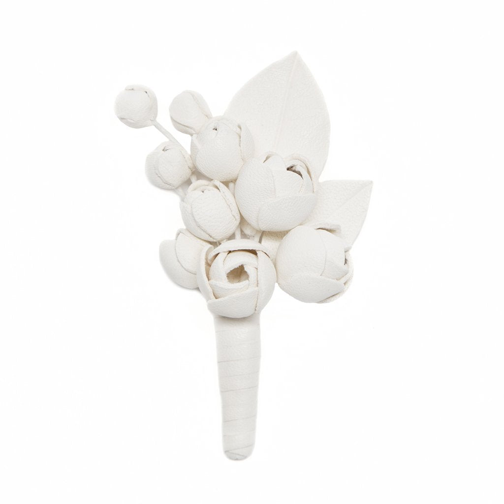 Austin Rose Groom Boutonniere