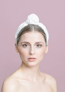 KNOT Hairband with Veil