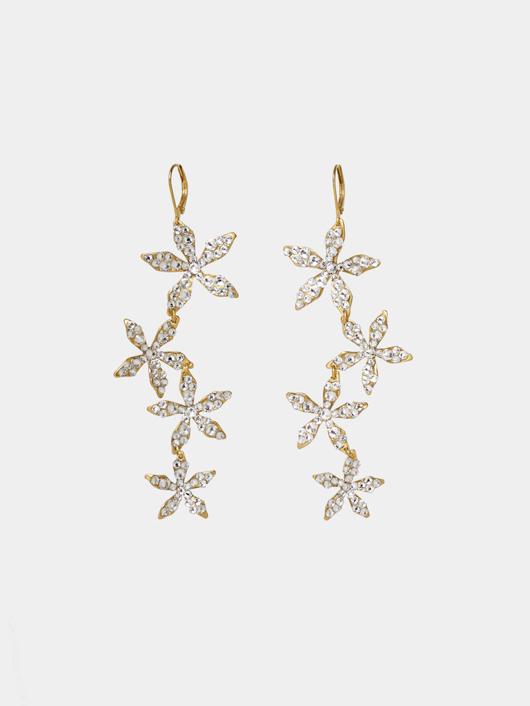 Ciel Cascade Crystal Earrings