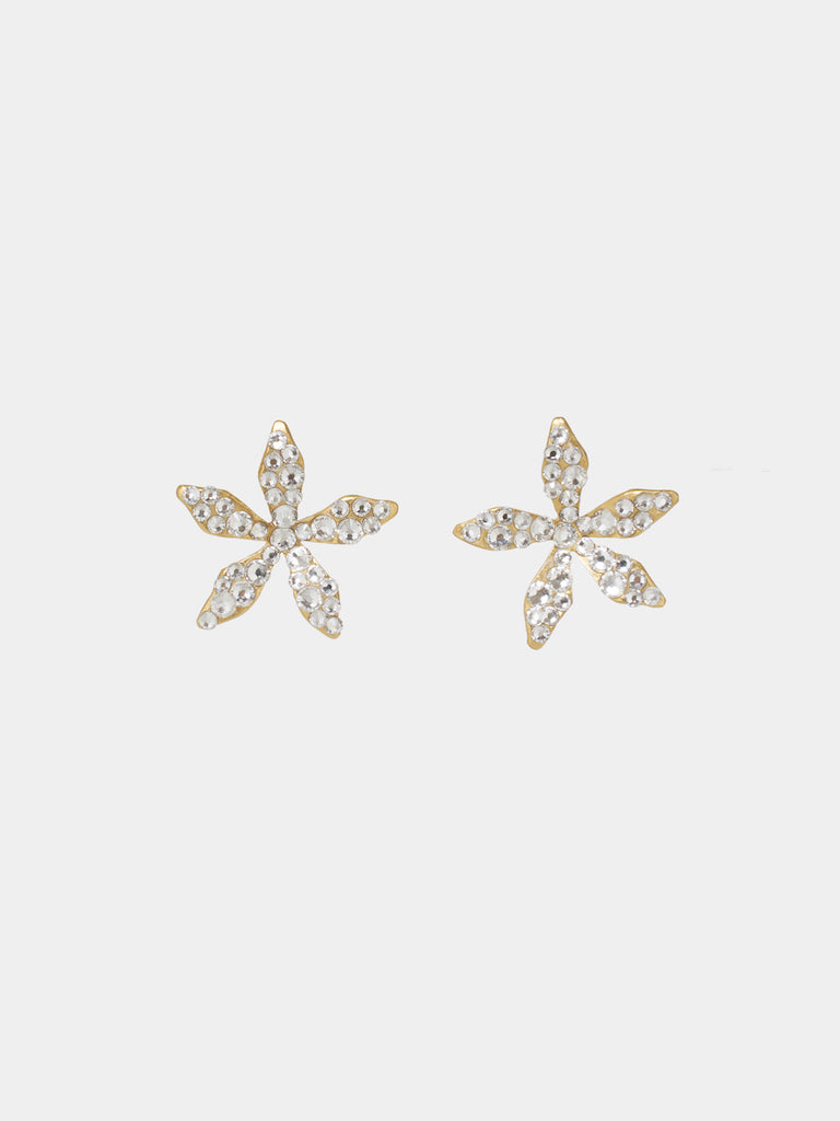Ciel Crystal Stud Earrings