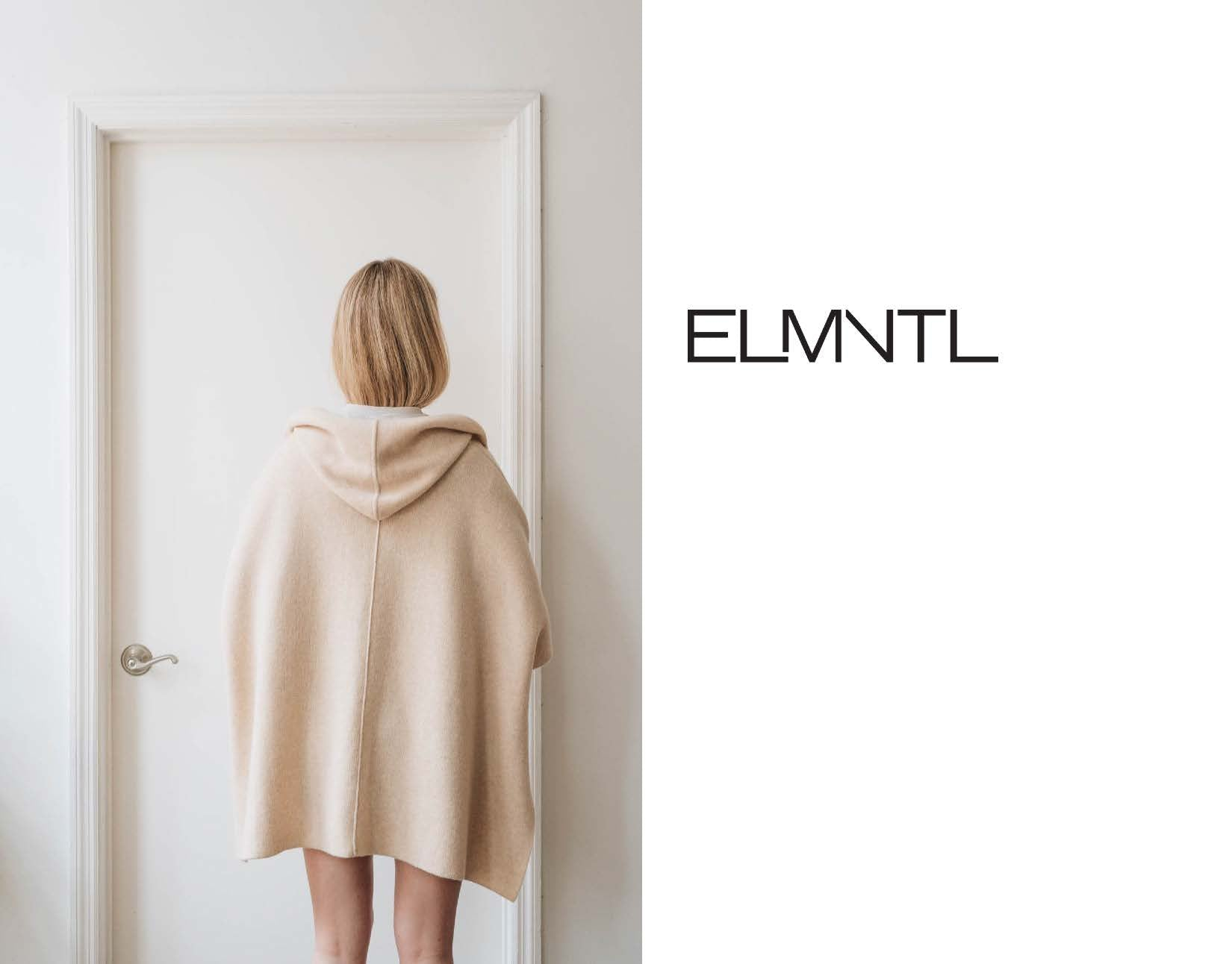 ELMNTL NYC Sustainable Comfort Wear Capelet