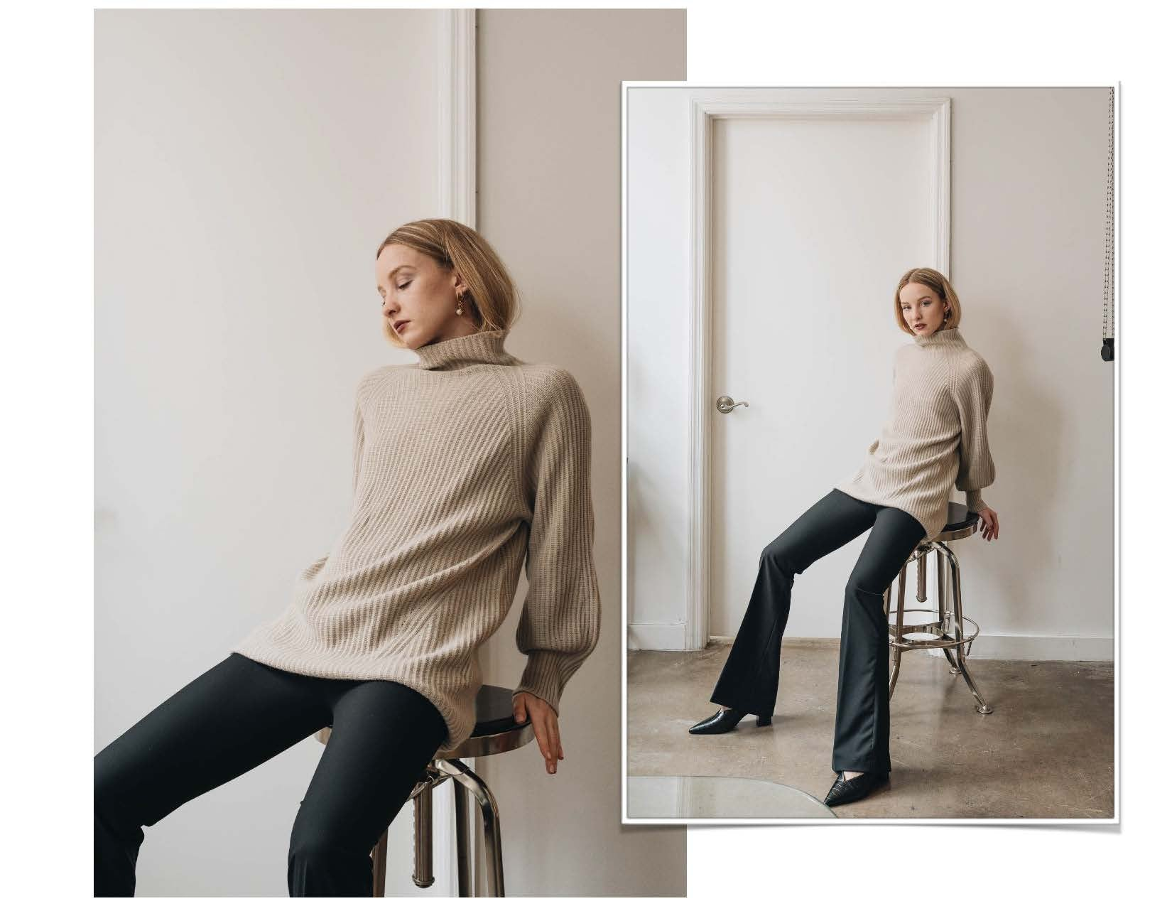 ELMNTL NYC Sustainable Fashion 3D-Printed Sweater Top