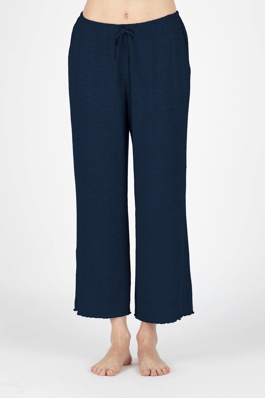 Sustainably Chic Lounging Pant - Navy