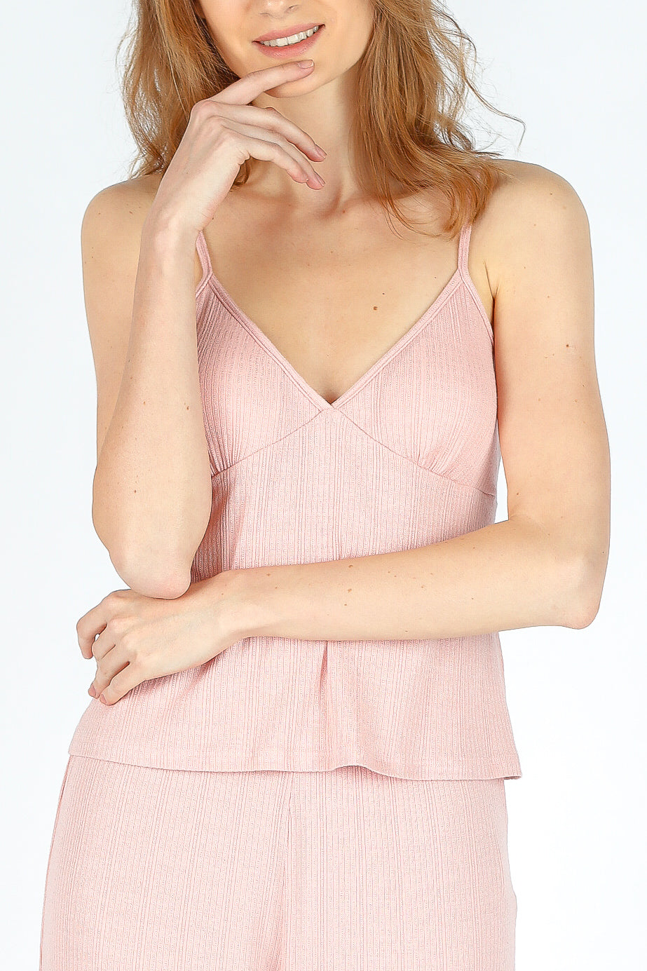Sustainably Chic Cami Top - Misty Rose