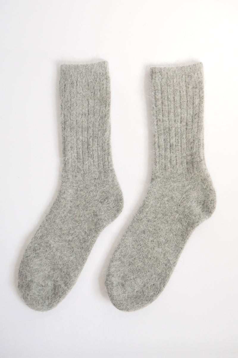 Super Soft Wool Socks - Grey