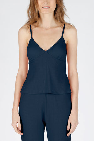 Sustainably Chic Cami Top - Navy
