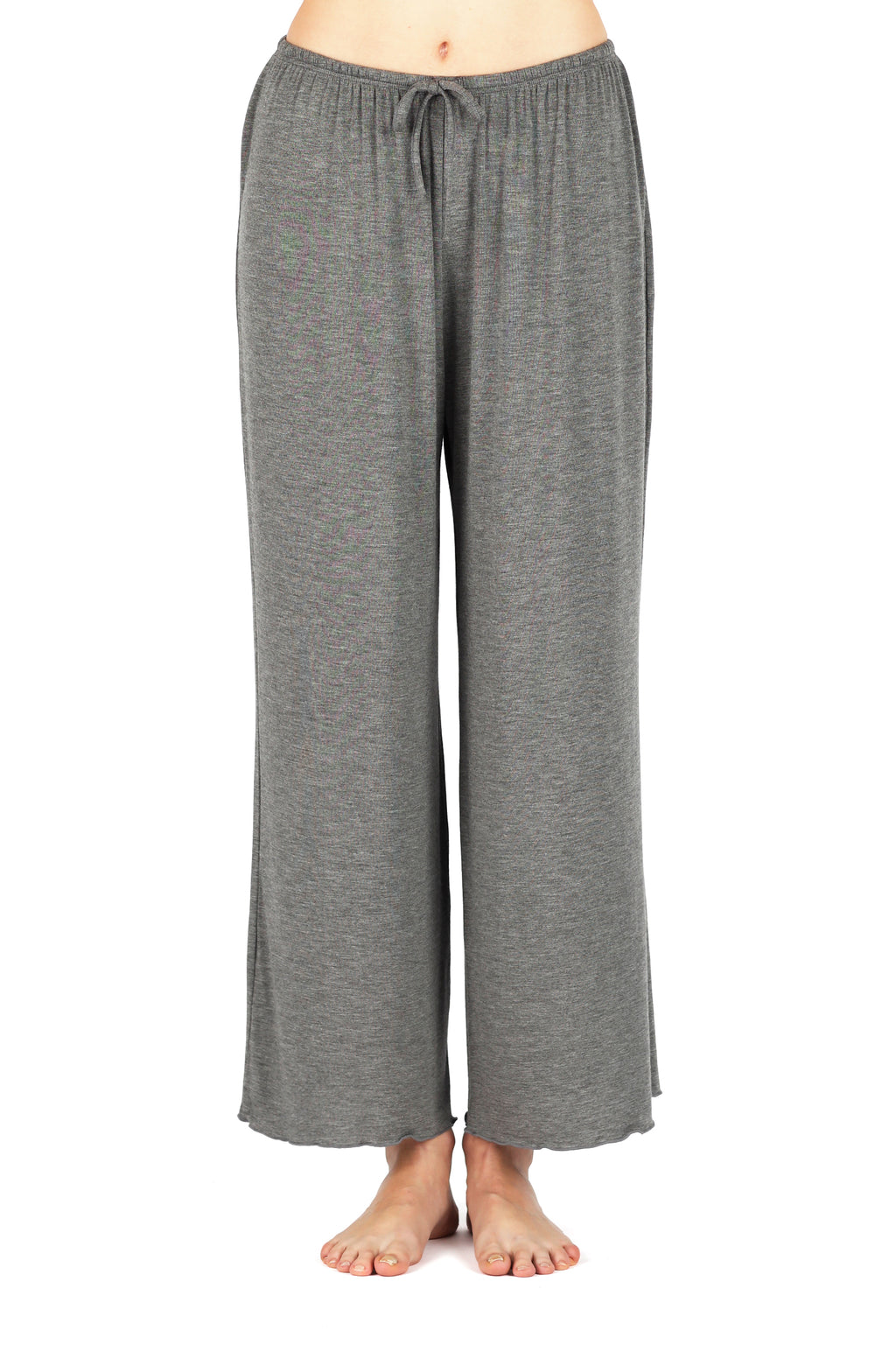 All-Day-Chic Pajama Pant - Charcoal