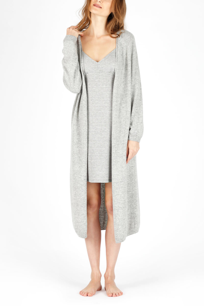 ELMNTL NYC Sustainable Fashion Loungewear Sweater Cardigan