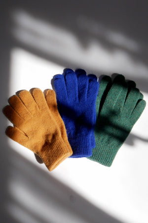 Wool Gloves - Royal Blue