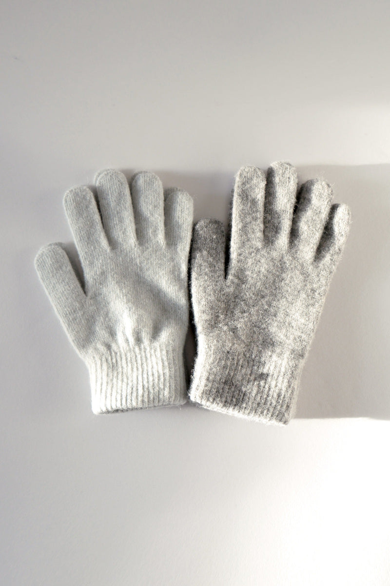 Wool Gloves - Peppermint