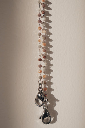 Chain Necklace - Brown