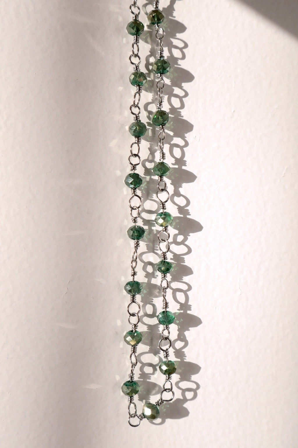 Chain Necklace - Green