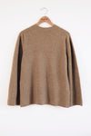 Wrap-in-Luxury Top - Taupe