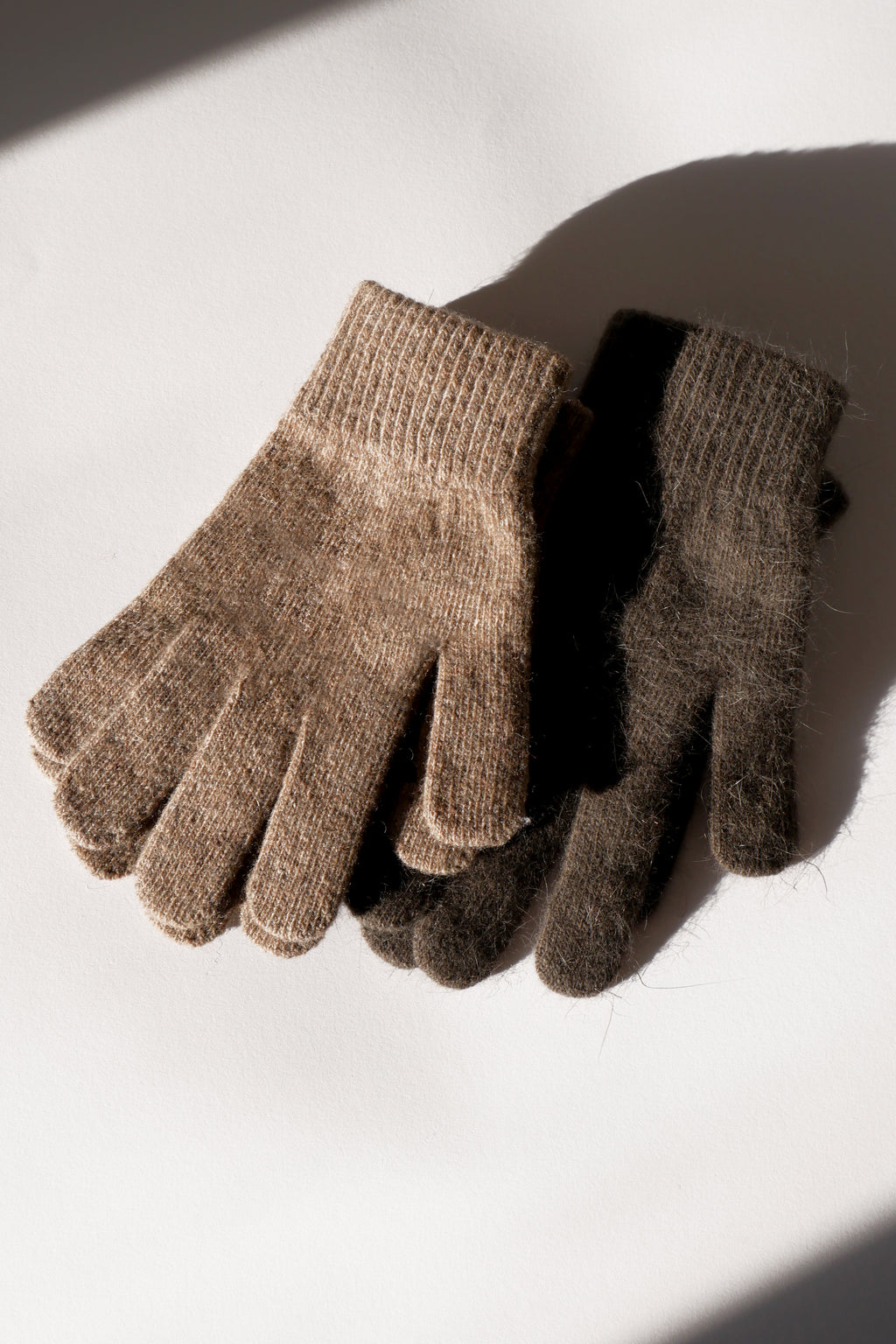 Wool Gloves - Taupe