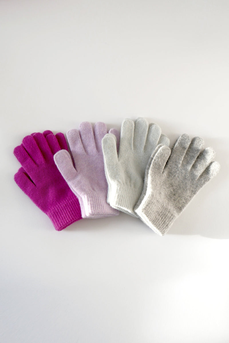 Wool Gloves - Lavender