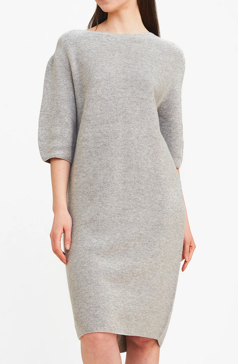 On-the-go Sweater Dress - Grey
