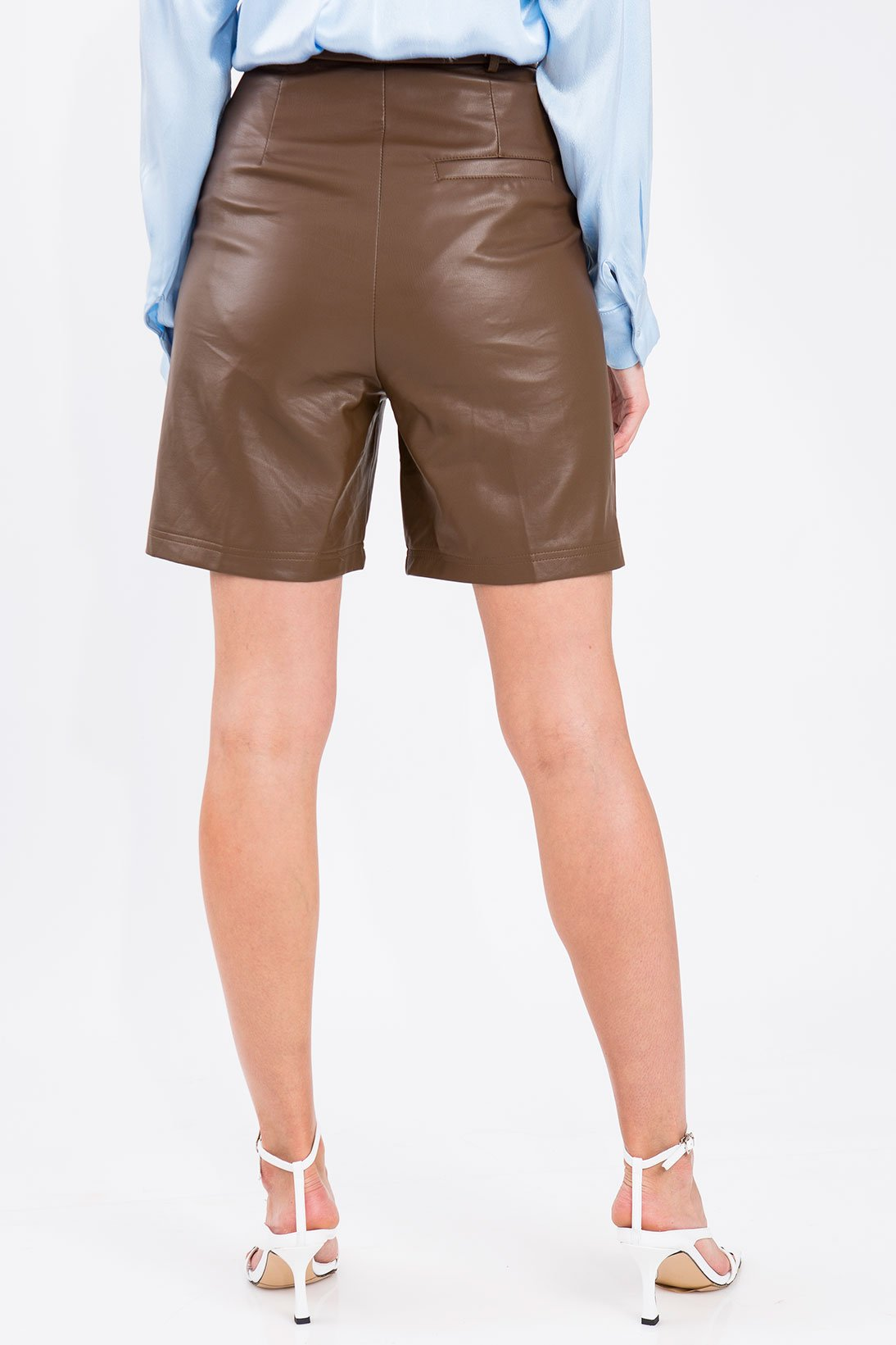 Fauxy Leather Shorts