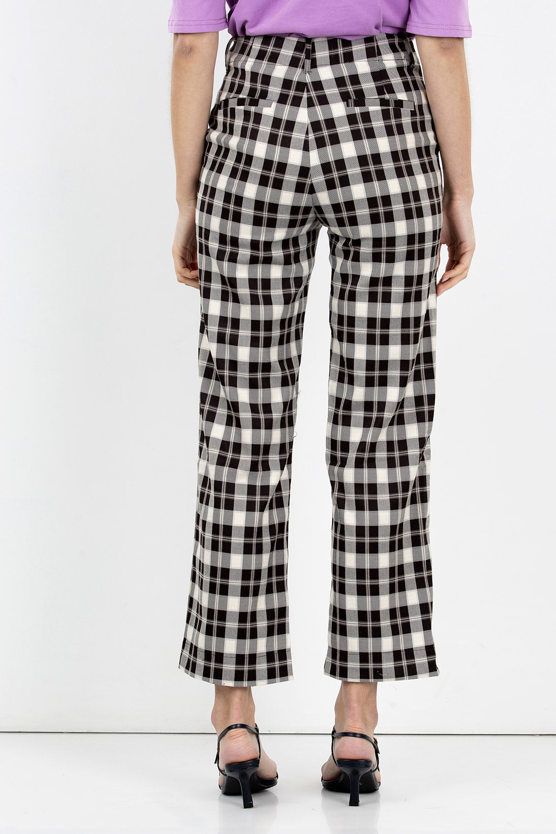 madam plaid pants